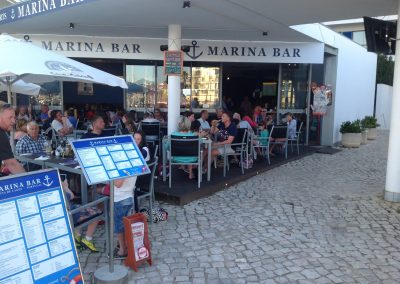 Marina Bar Lagos Bar in Lagos Portugal Outside seating with Views of the Marina Lagos Algarve 5 - Bar Lagos Algarve portugal