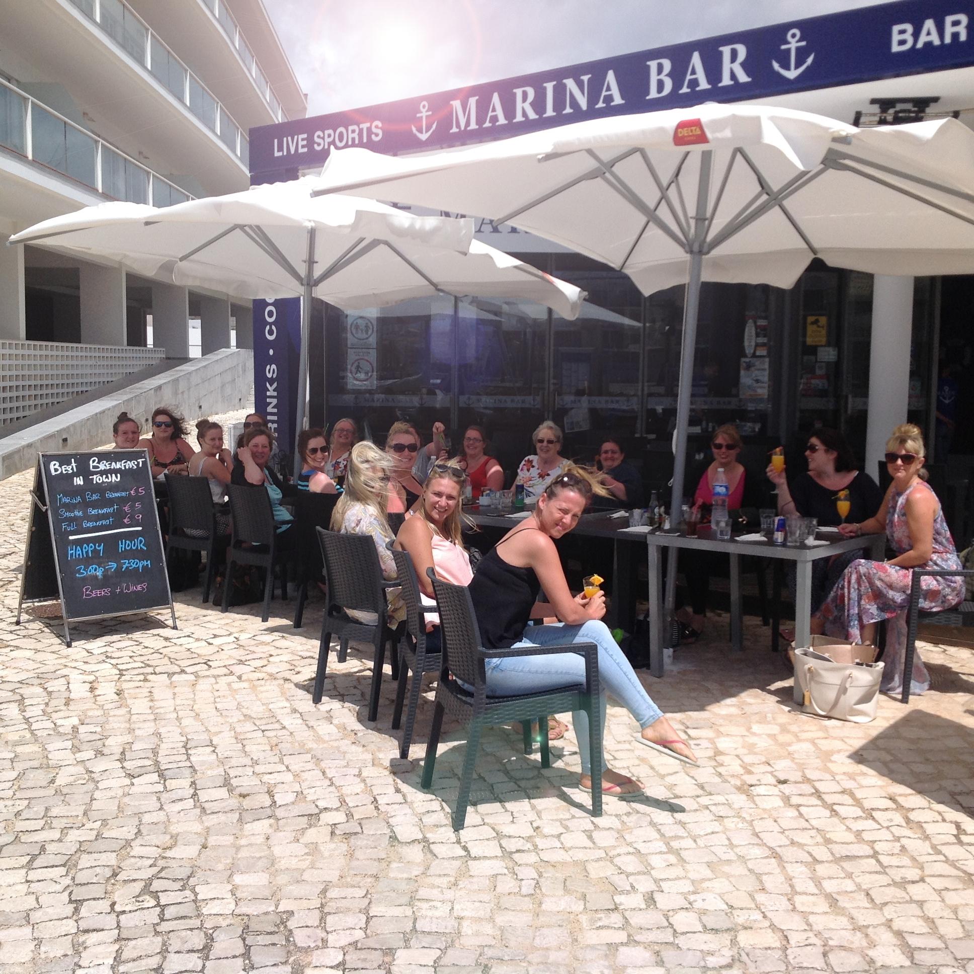 Marina Bar Lagos Outside 1 (2) - Sports Bar and Restaurant Bar Lagos Algarve portugal
