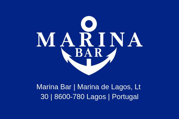 Map of Marina bar Lagos Location Marina Bar Lagos Algarve Marina Bar Lagos Portugal